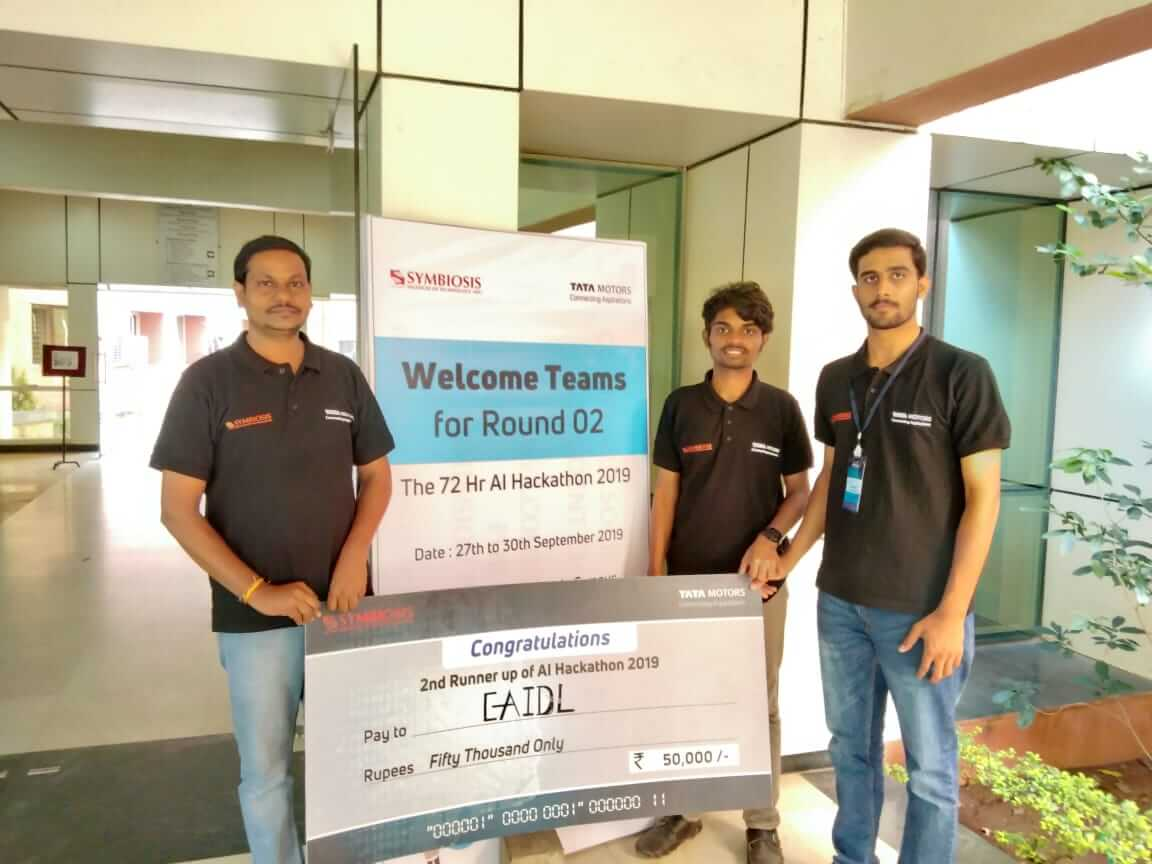 AI Hackathon TATA Motors competition, SR University