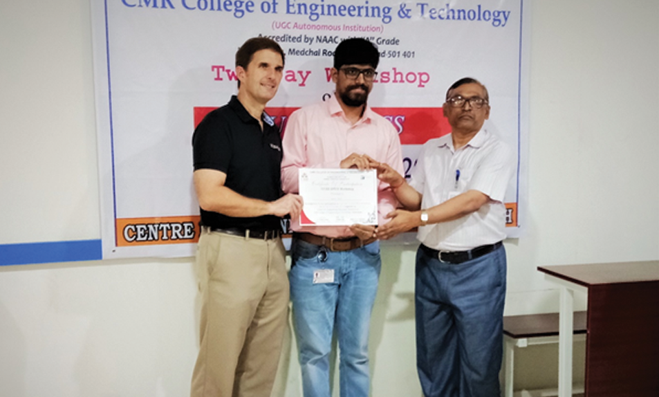 IUCEE - EPICS Workshop with Prof. William Oakes, Center for Design, SR University, NATIONAL ENTREPRENEURSHIP AWARD 2019