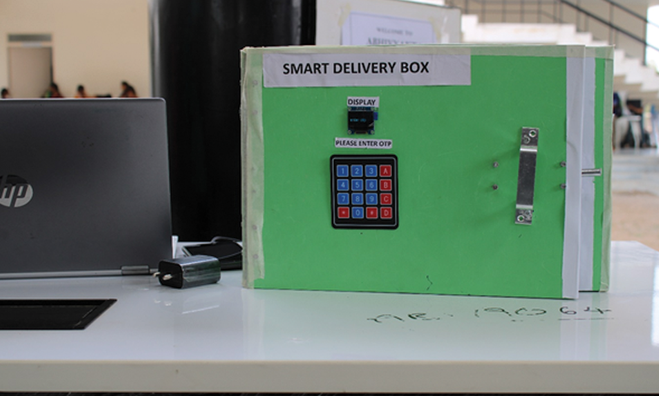 Smart Delivery Box, Center for Design, SR University, dru-recruiters