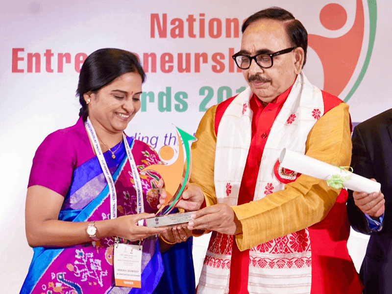 National Entrepreneurship Award 2019, SR University